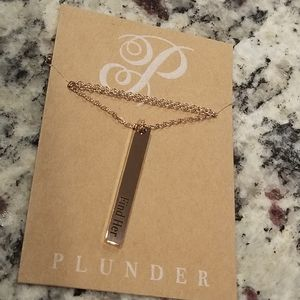 """Find Her"" Plunder Necklace"